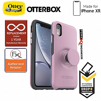 OTTER + POP Symmetry for iPhone XR - Slim Protective Case with PopSockets -  Mauveolous