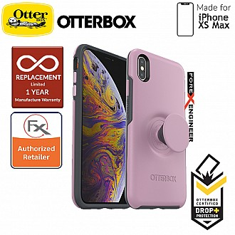 OTTER + POP Symmetry for iPhone Xs Max - Slim Protective Case with PopSockets -Mauveolous