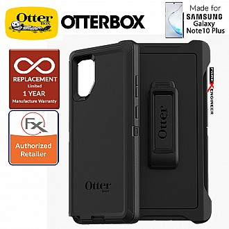 Otterbox Defender for Samsung Galaxy Note 10+ / Note 10 Plus - 2 Layers Lightweight Protection Case - Black
