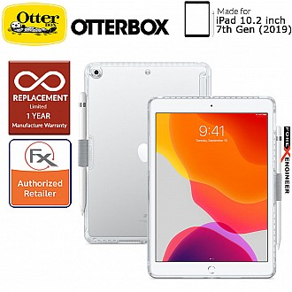 "OtterBox Symmetry Clear for iPad 10.2"" / 10.2 inch 7th Gen ( 2019 ) - Clear Color"
