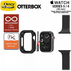 Otterbox EXO EDGE for Apple Watch Series 5 / Series 4 ( 40mm ) -  Black Color ( Barcode : 660543523857 )