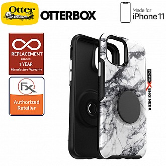 Otterbox OTTER + POP Symmetry for iPhone 11 - White Marble Color ( Barcode: 660543526889 )