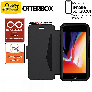 OtterBox Strada for iPhone SE 2nd Gen ( 2020 ) Compatible with iPhone 8 / 7 - Shadow Color ( Barcode: 840104211441 )