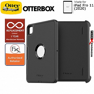 "Otterbox Defender for iPad Pro 11 inch / 11"" ( 2020 ) 2nd Gen Black Color ( Barcode : 840104212639 )"