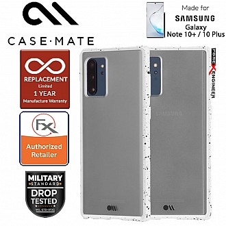 Case Mate Tough Speckled for Samsung Galaxy Note 10+ / Note 10 Plus  - White