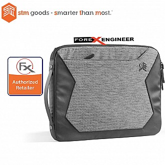 STM Myth Laptop Sleeve 15 inch- Granite Black (Barcode : 608410061514 )