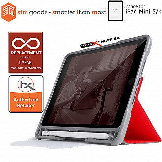 STM Dux Plus Duo for iPad Mini 5 / Mini 4 - Red Color ( Barcode: 765951763649)