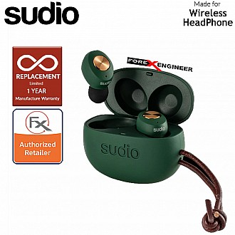 Sudio TOLV True Wireless Earbuds - Instant pairing - Green Color ( Barcode : 7350071381953 )