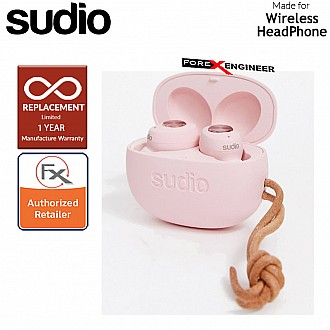 Sudio TOLV True Wireless Earbuds - Instant pairing - Pink Color ( Barcode : 7350071382011 )