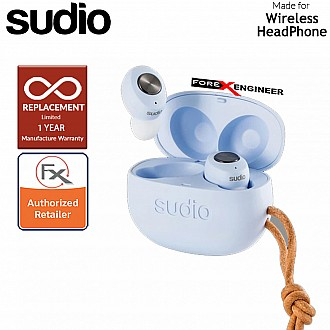Sudio TOLV True Wireless Earbuds - Instant pairing - Blue Color ( Barcode : 7350071382042 )
