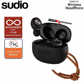 Sudio TOLV True Wireless Earbuds - Instant pairing - Black Color ( Barcode : 7350071389508 )