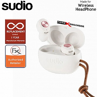 Sudio TOLV True Wireless Earbuds - Instant pairing - White Color ( Barcode : 7350071389904 )