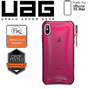 UAG Plyo for iPhone Xs Max Feather-Light Rugged & Military Drop Tested - Pink color
