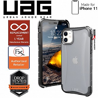 [READY-STOCK]  UAG Plyo for iPhone 11 - Feather-Light Rugged & Military Drop Tested - Ice