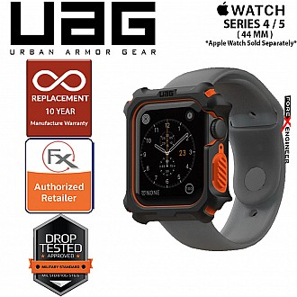 UAG Watch Case for Apple Watch Series 4 / 5 / SE / 6 - 44mm ( Black / Orange)
