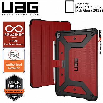 "UAG Metropolis for iPad 10.2"" / 10.2 inch 7th Gen ( 2019 ) - Magma Color"