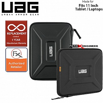 "UAG Small Sleeve for Laptop / Tablet 8"" - 11"" / 8 - 11 inch - Black Color ( Barcode : 812451033540 )"