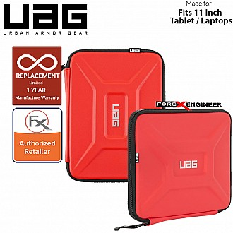 "UAG Small Sleeve for Laptop / Tablet 8"" - 11"" / 8 - 11 inch - Magma Color ( Barcode : 812451033557 )"