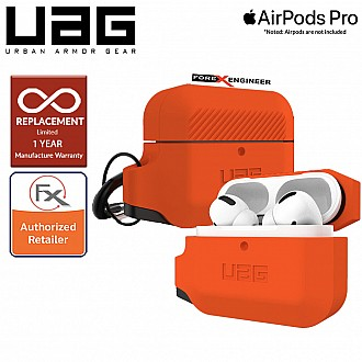 UAG AirPods Pro Silicone Case - Orange / Black Color