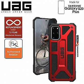 "UAG Monarch for Samsung Galaxy S20+ / S20 Plus 6.7"" - Crimson Color"
