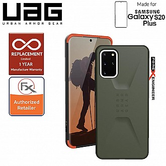 "UAG Civilian for Samsung Galaxy S20+ / S20 Plus 6.7"" - Olive Drab Color"
