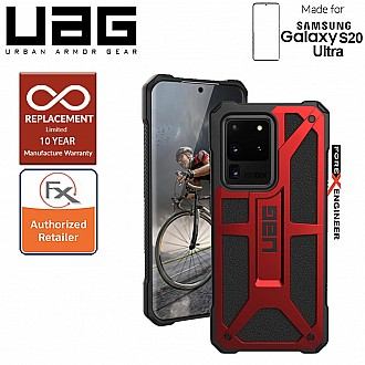 "UAG Monarch for Samsung Galaxy S20 Ultra 6.9"" - Crimson Color"