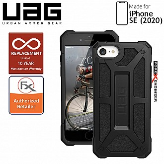 UAG Monarch for iPhone SE ( 2020 ) - Black Color compatible with iPhone 8 / 7 ( Barcode: 812451034509 )