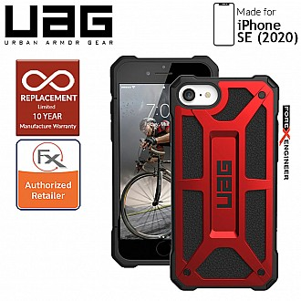 UAG Monarch for iPhone SE ( 2020 ) - Crimson Color compatible with iPhone 8 / 7 ( Barcode: 812451034523 )
