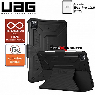 UAG Metropolis for iPad Pro 12.9 4th Gen 2020 - Black Color ( Barcode: 812451034738 )
