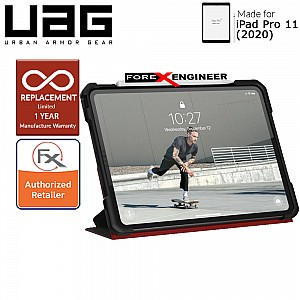 UAG Metropolis for iPad Pro 11 2nd Gen 2020 - Magma Color ( Barcode: 812451034783 )