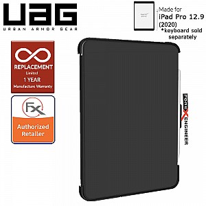 "UAG Scout Series for iPad Pro 12.9 inch / 12.9"" 4th Gen 2020 - Compatible with Smart Keyboard Folio - Black Color ( Barcode: 812451034851 )"