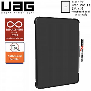 UAG Scout Series for iPad Pro 11 inch 2nd Gen 2020 - Compatible with Smart Keyboard Folio - Black Color ( Barcode: 812451034875 )