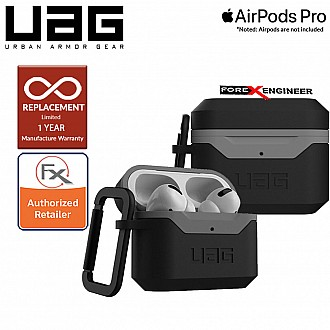 UAG Hard Case V2 for Airpods Pro  - Black/Grey (Barcode : 812451035476 )