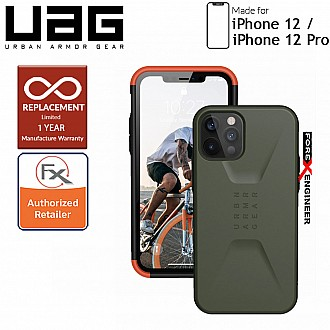 "UAG Civilian for iPhone  12  / 12 Pro  5G 6.1"" -  Olive ( Barcode : 812451036084 )"