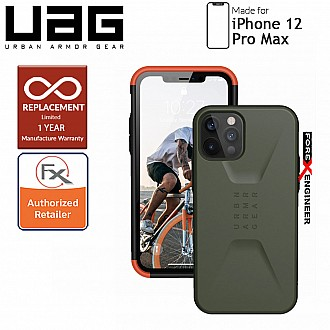 "UAG Civilian for iPhone 12 Pro Max 5G 6.7"" - Olive ( Barcode : 812451036183 )"