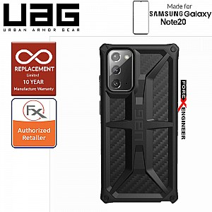UAG Monarch for Samsung Galaxy Note 20 5G 2020 - Rugged Military Drop Tested -  Carbon Fiber ( Barcode : 812451036411 )