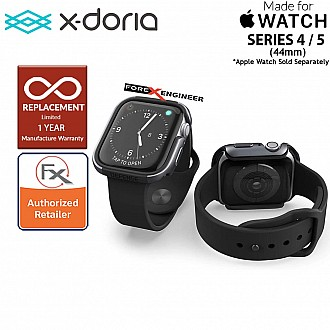 X-Doria Defense Edge Case for Apple Watch Series SE / 6 / 5 / 4 - 44mm -  Charcoal Color