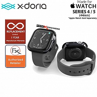 X-Doria Defense Edge Case for Apple Watch Series SE / 6  5 / 4 - 44mm -  Black Color