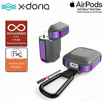 X-Doria Defense Trek for AirPods 1 & 2 Compatible - Iridescent Color