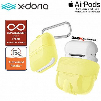 X-Doria Defense Journey for AirPods 1 & 2 Compatible  - Yellow Color