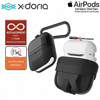 X-Doria Defense Journey for AirPods 1 & 2 Compatible  - Black Color