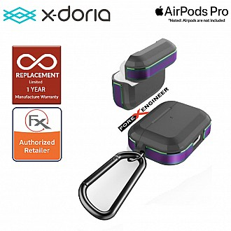 X-Doria Defense Trek for AirPods Pro - Iridescent Color