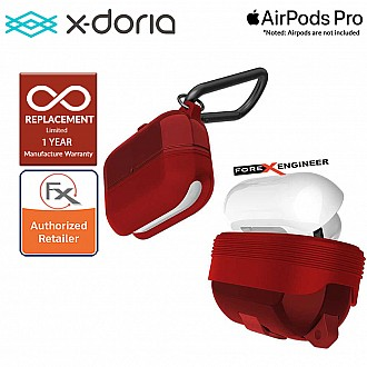 X-Doria Defense Journey for AirPods Pro - Red Color