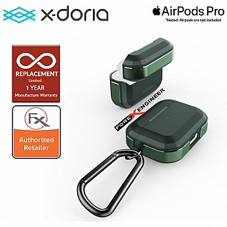 X-Doria Defense Trek for AirPods Pro - Midnight Green Color