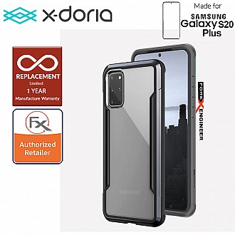"X-Doria Defense Shield for Samsung Galaxy S20+ / S20 Plus 6.7"" - Black Color"