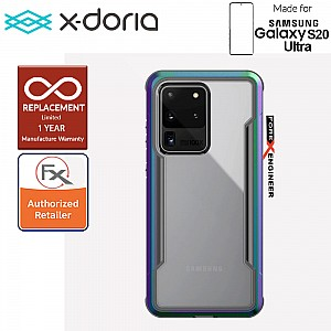 "X-Doria Defense Shield for Samsung Galaxy S20 Ultra 6.9"" - Iridescent Color"