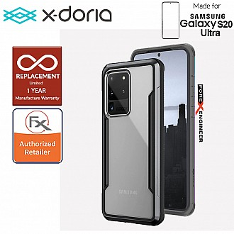 "X-Doria Defense Shield for Samsung Galaxy S20 Ultra 6.9"" - Black Color"