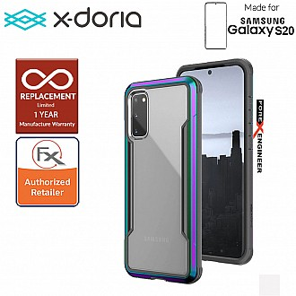 "X-Doria Defense Shield for Samsung Galaxy S20 6.2"" - Iridescent Color"