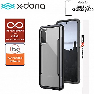 "X-Doria Defense Shield for Samsung Galaxy S20 6.2"" - Black Color"