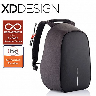 "XD Design Bobby Hero REGULAR Anti-Theft Backpack , Fits 15.6"" Laptop - Black color"